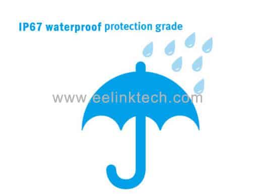 TK119-W 3g vehicle tracking system waterproof IP67 dustproof